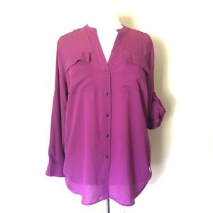 Calvin Klien Orchid Purple Blouse